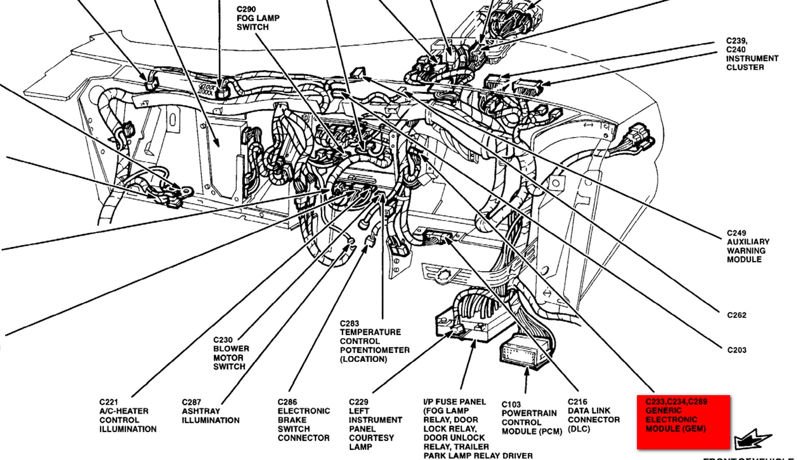 98 ford windstar wiring diagrams product analysis example staple, Wiring diagram