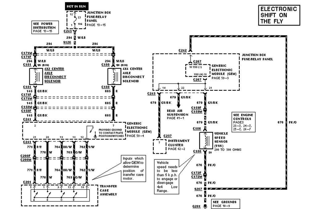 I need a 1997 ford f-150 4x4 electric diagram for the 4x4 unit