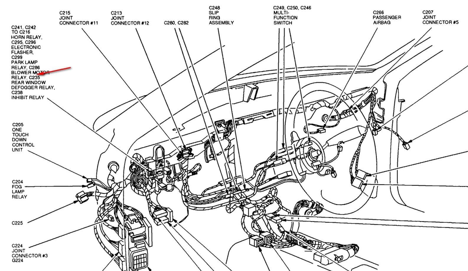 Ford escort blower motor resistor replacement