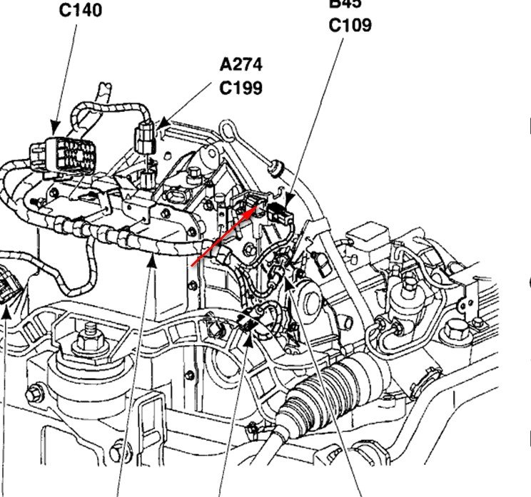 Please Tell Me Where To Find Athe Knock Sensor Location On My '02 Rhjustanswer: Ford Knock Sensor Location At Gmaili.net