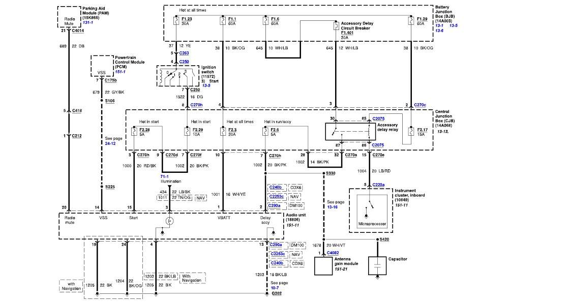 2010 11 23_165140_a1 lincoln aviator radio wiring diagram lincoln free wiring diagrams GM Radio Wiring Diagram at edmiracle.co