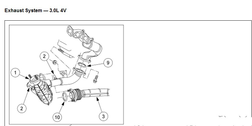 How Do You Replace The Bank 1 Catalytic Converter On A 2003 Ford Taurus