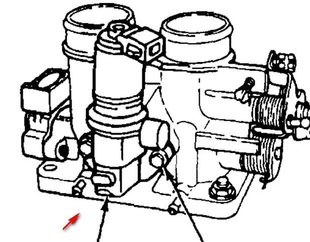 I Have A 1995 F250 5 8 Liter 4x4 It Has A High Idle Problem I