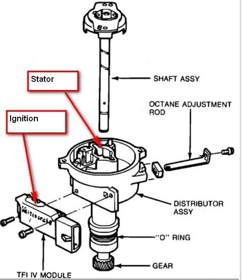 1992 honda accord distributor diagram