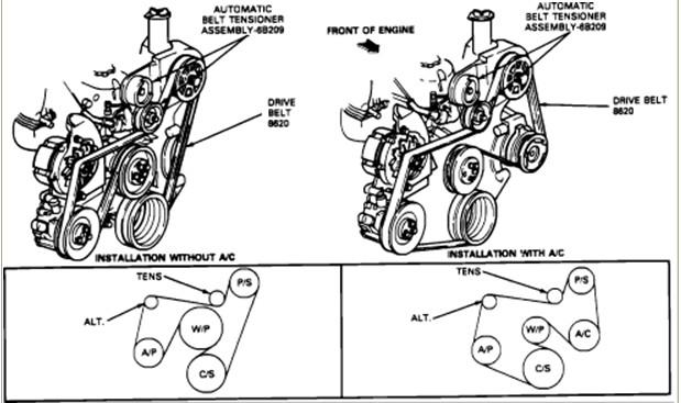 You Need Serpentine Belt Diagram Then Suitable Serpentine Belt Diagram