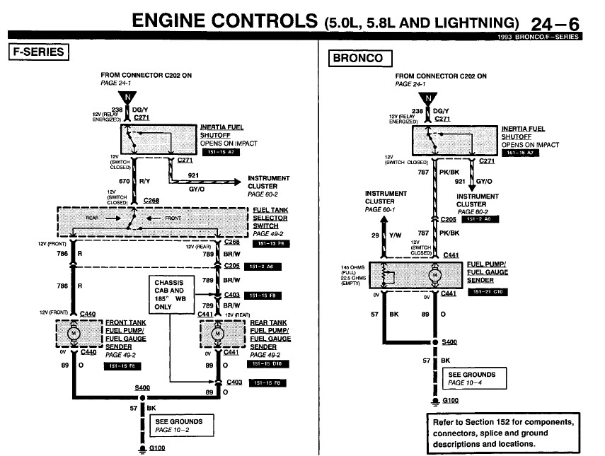 Need To Know Where The Signal Wire To The Fuel Pump Starts