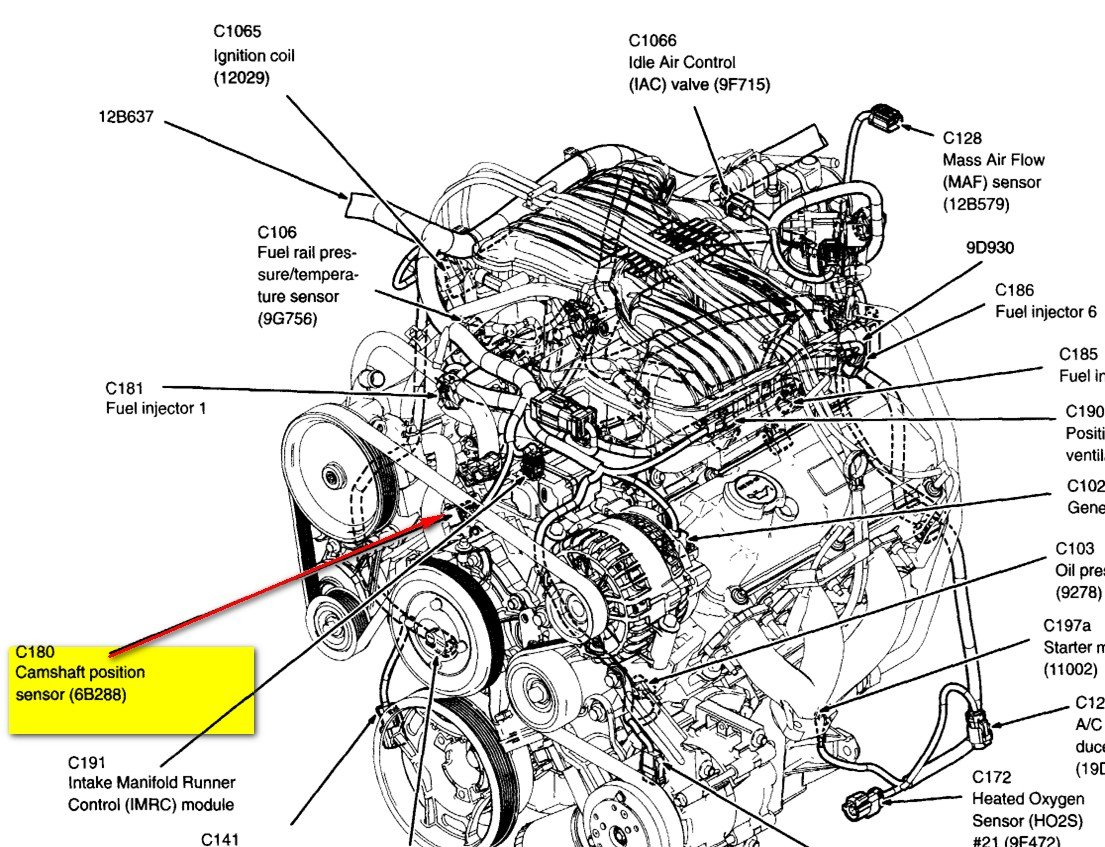 05 Freestyle Wiring Diagram Library Cam Sensor Graphic