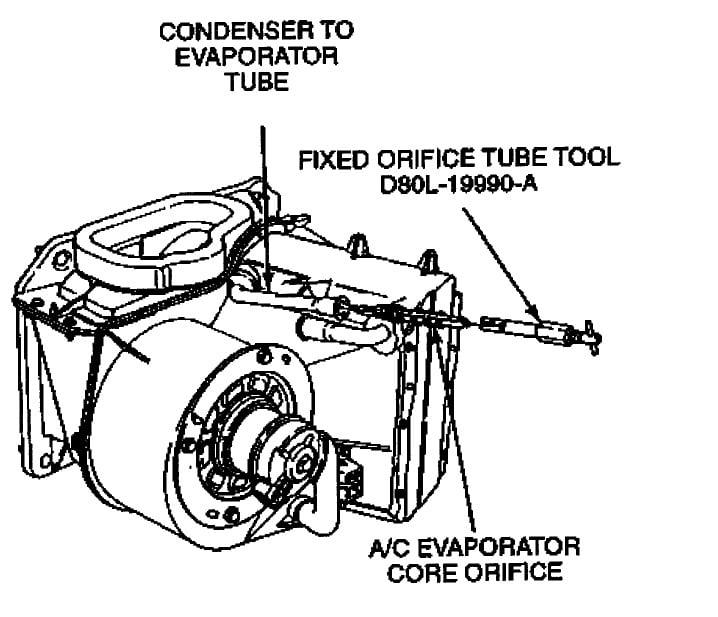 Mazda Mpv 2003 Engine Diagram 2002 Mazda B3000 Cooling: 2001 Ford Escape Ac Orifice Tube Location