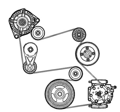 07 equinox belt diagram block and schematic diagrams u2022 rh lazysupply co  2007 chevy equinox engine diagram
