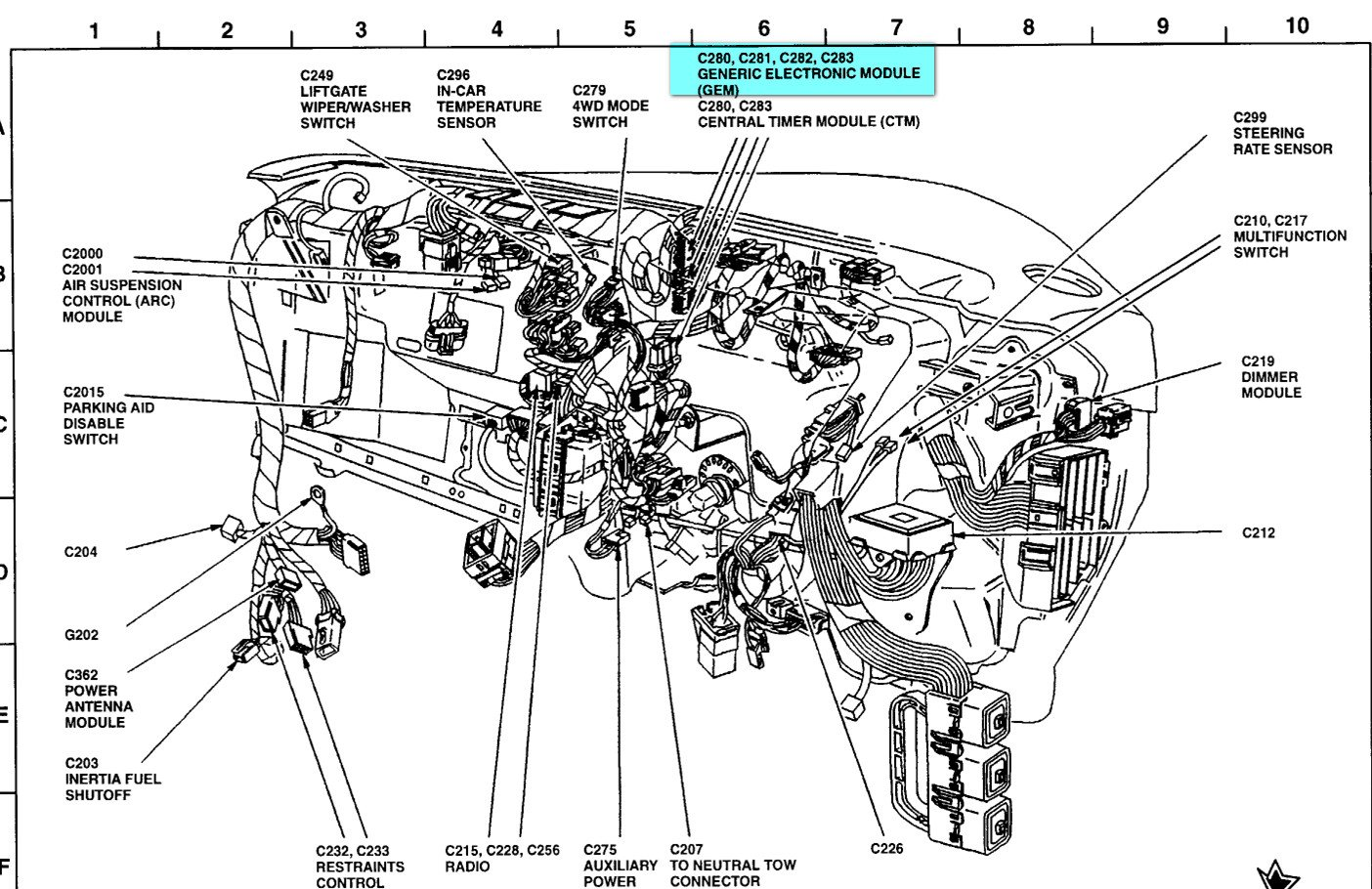 2001 Ford Explorer Sport Wiring Diagram Schematic 2019 Radio Trac Engine Get Free Image About