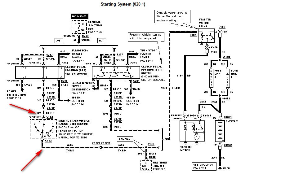 wiring diagram 2000 ford f 250 starter