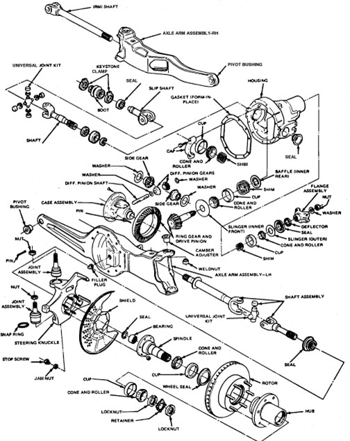 Ford F 250 Front End Parts Diagram Stabilizer