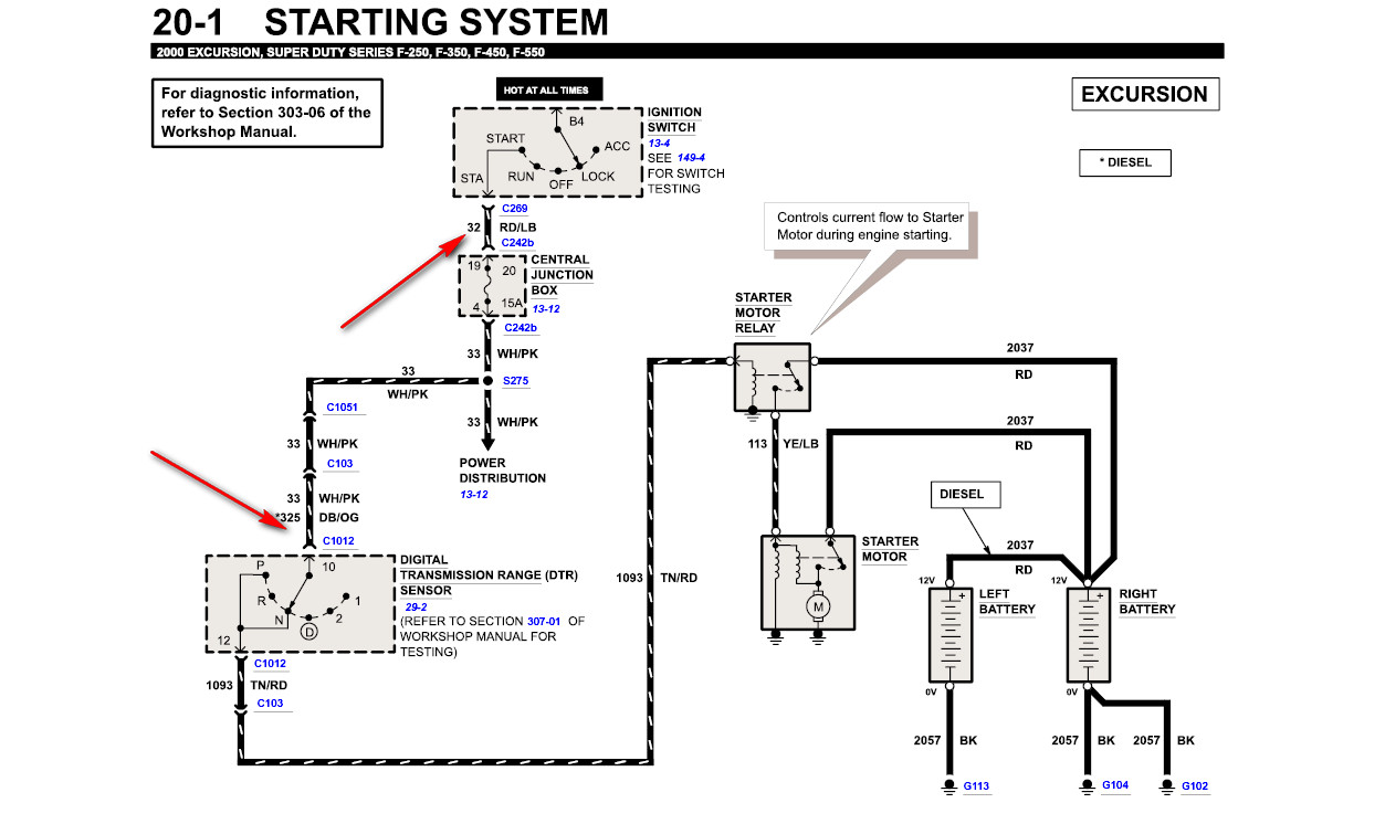 87 ford starter solenoid wiring diagram  ford  auto wiring diagram