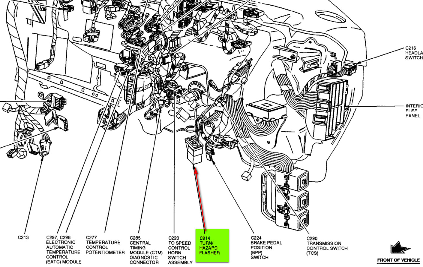 98 Ford Expedition Transmission Wiring Diagram Digital ... F Wiring Diagram on