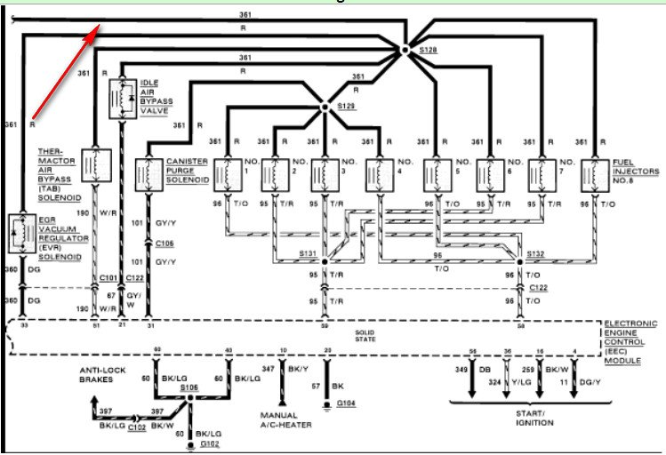 1997 ford 460 engine wiring diagram