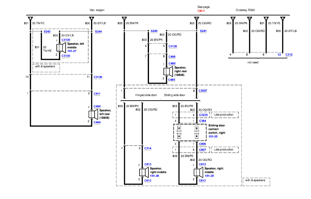 wiring diagrams for ford ambulance i have an 03 e450 cutaway chassis (old ambulance) with 7 ... wiring diagrams for ford 1957 ranchero #4
