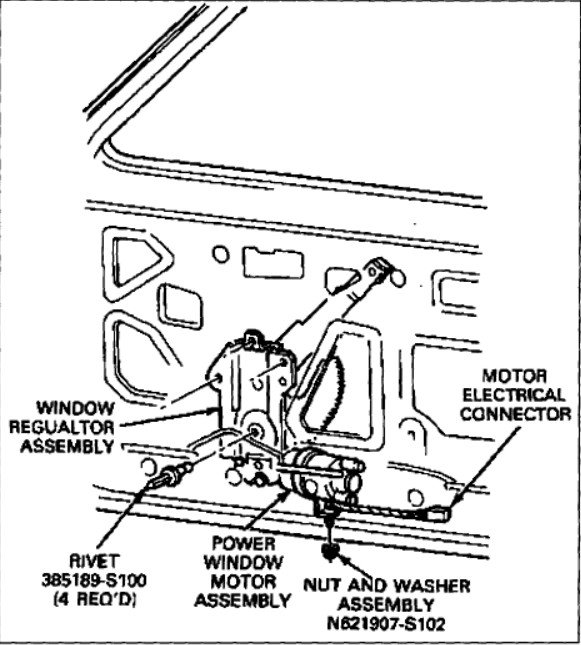 Graphic: Ford Ranger 2001 Window Wiring Diagram At Submiturlfor.com