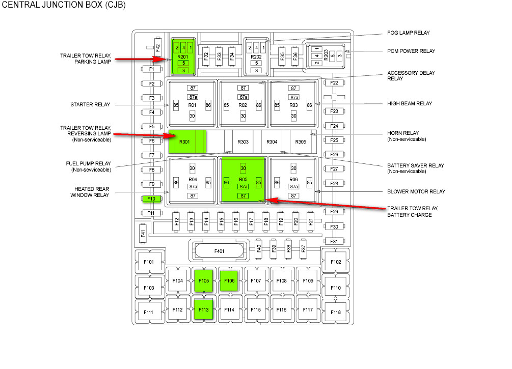 2008 f150 fuse trailer lights data wiring diagrams u2022 rh mikeadkinsguitar com