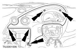 How Do I Change The Dashboard Light On A Ford Ka 2006