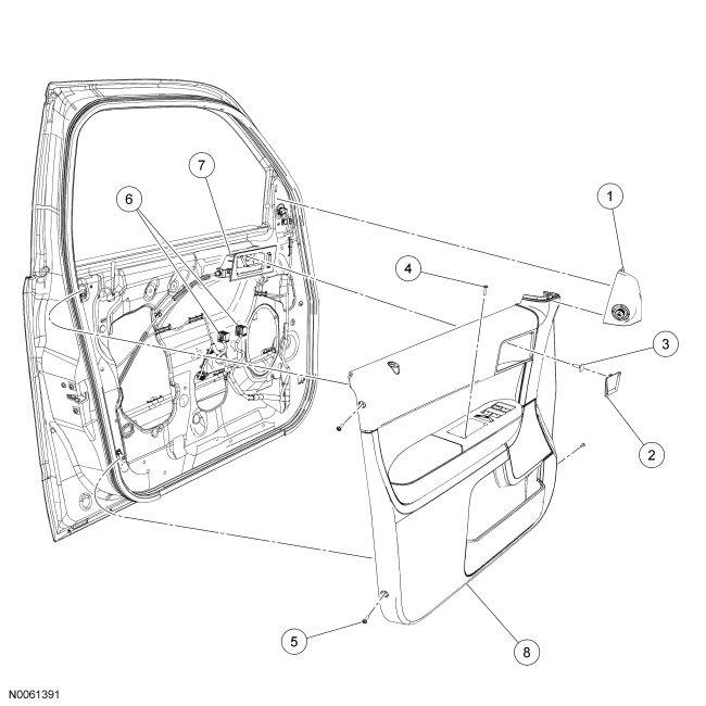 2010 subaru forester body parts diagram