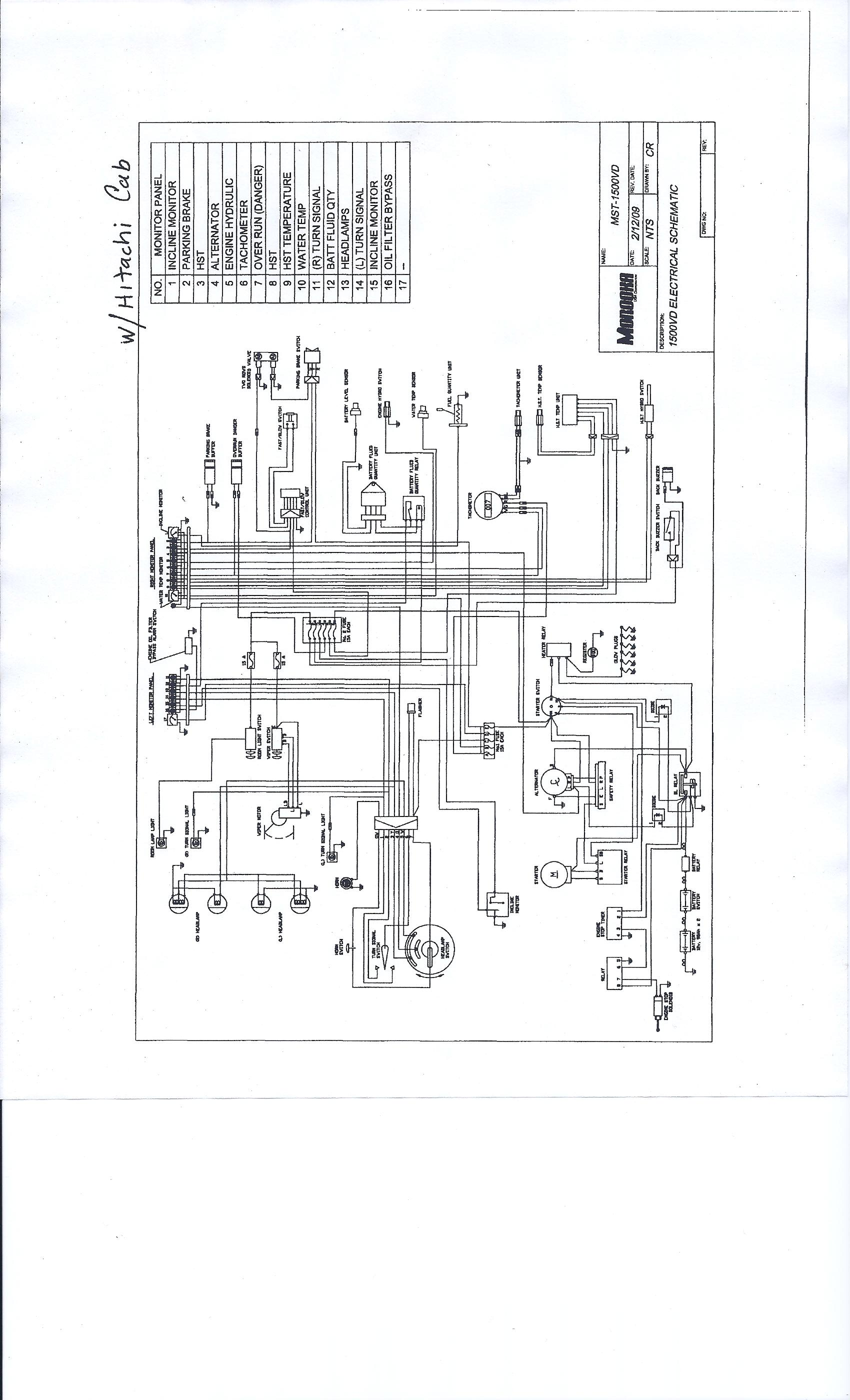i need a wiring diagram  high  low range  for a 2005