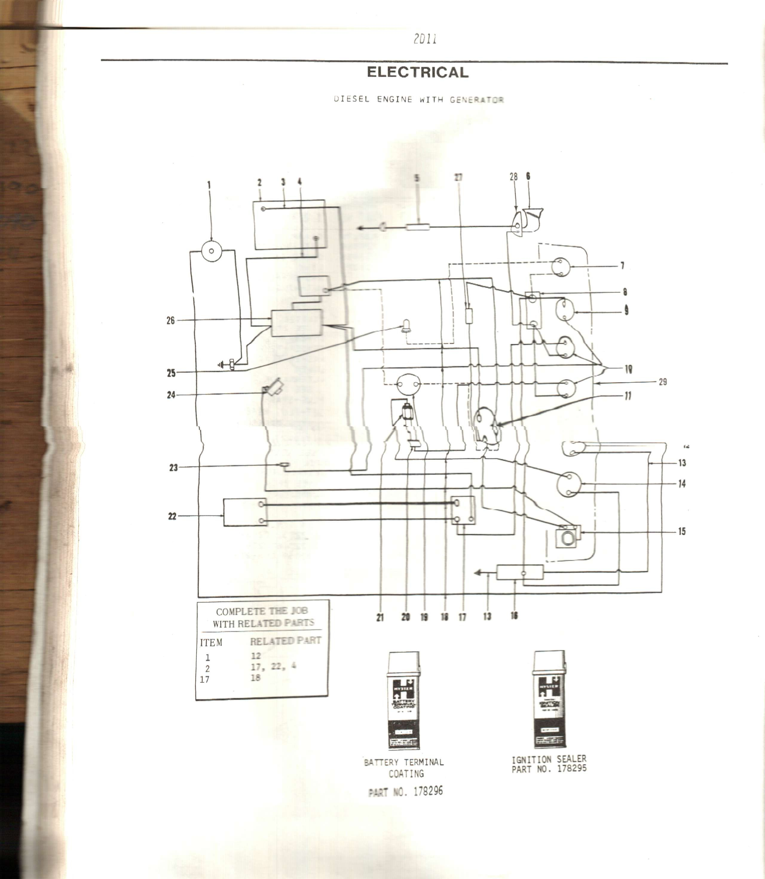Hyster Wiring Diagram Reinvent Your Yale Lift Truck Need A For H80c The Gen1102180 Rh Justanswer Com H50xm Forklift