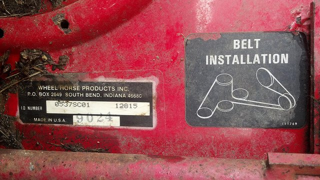 2012 04 16_234711_6857893503_9b6d972a11_z need belt diagram for a wheel horse 312 a lawn mower  at alyssarenee.co