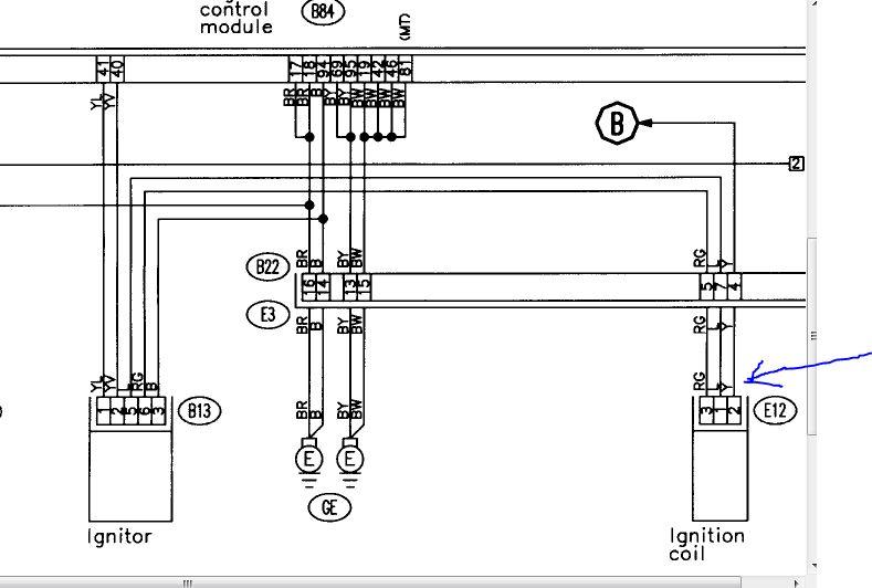 our 1997 subaru legacy outback, 2 5 liter engine, has  1997 subaru legacy coil wiring diagram #3
