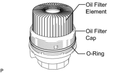 Toyota Highlander 2011 Oil Filter Location