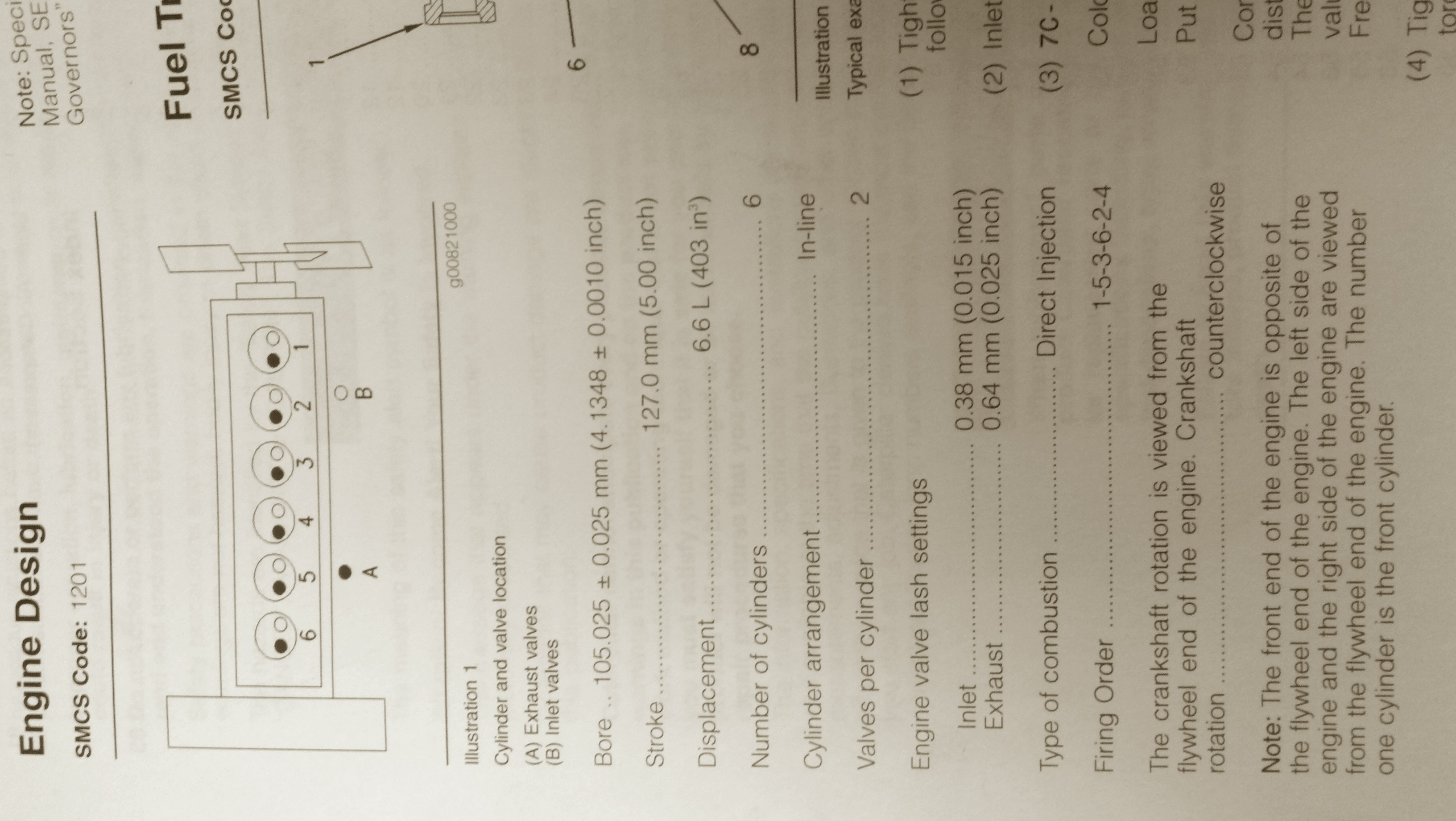 Looking for technical data on caterpillar 3116 engine serial
