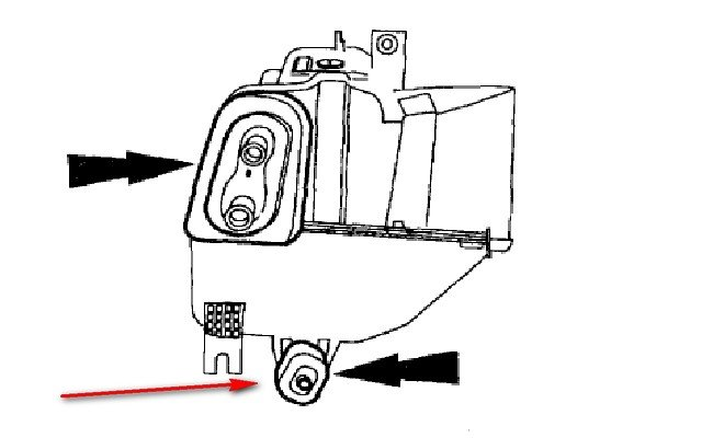 Zip Tie Gun >> How do I clean a plugged ac drain line on a 1999 ford escort zx2 cool? Where is the drain line ...