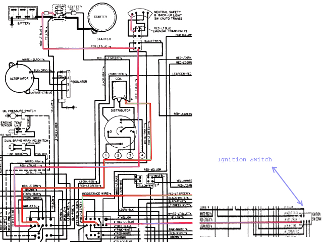 i have a store bought starter switch. i get confused ... 1951 chevy ignition switch wiring diagram #5