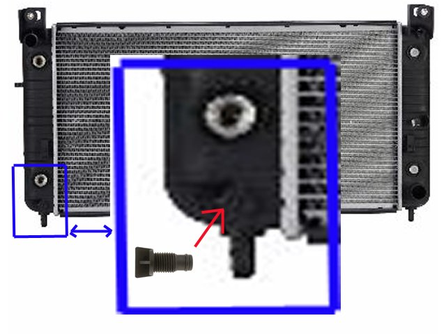 i have a 2004 gmc 2500hd  how do i drain the radiator  i