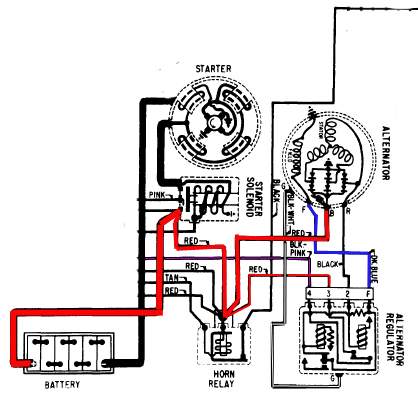 we have a 1963 corvette and just replaced the generator alternator Sh626-12 Voltage Regulator Diagram 63 corvette voltage regulator wiring diagram