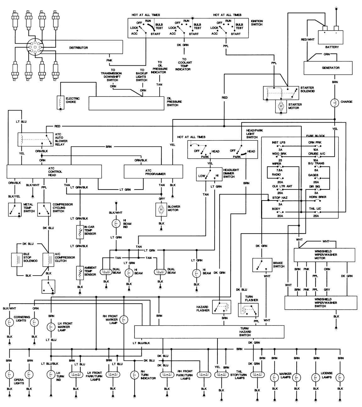 basic ignition wiring diagram 02 deville looking for wiring diagrams for a/c from compressor basic ignition wiring diagram 1200 cc harley #4
