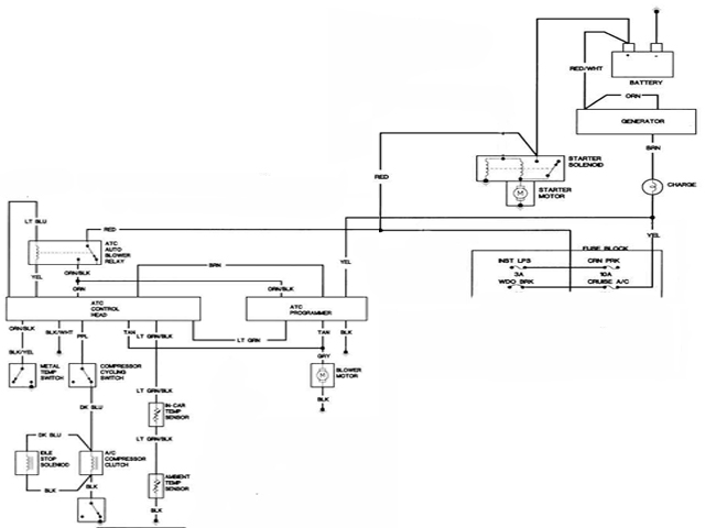 2002 Cadillac Deville Engine Diagram A C Switch