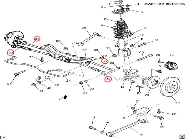 impala rear suspension diagram   30 wiring diagram images