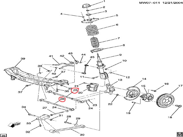 2008 Chevy Impala Suspension Diagram Basic Guide Wiring