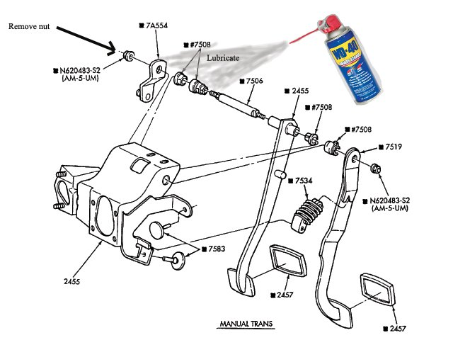2004 ford f150 brake diagram