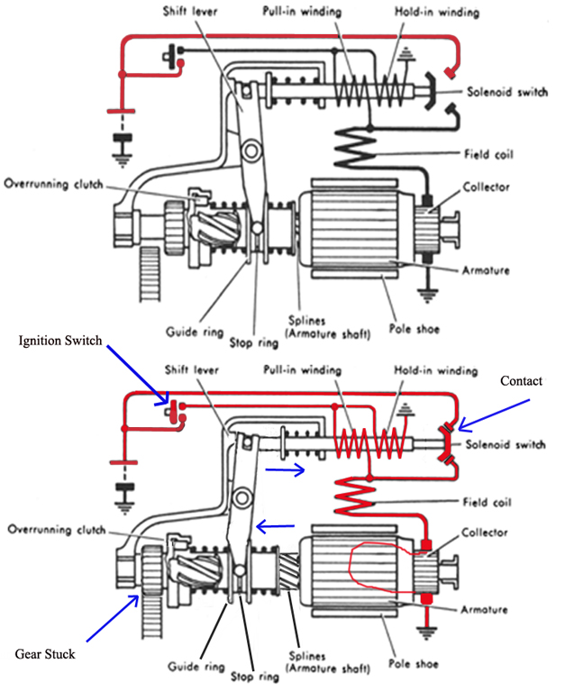 1965 mercedes 230sl starting problem