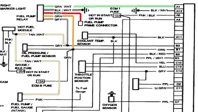 1987 chevy pickup wiring diagram 1987 chevy v20 wiring diagram #12
