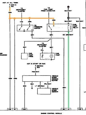 1988 chevy s10 wiring diagram 1989 chevy s10 2 5l 5 spd fuel pump doesn t engage when ignition  1989 chevy s10 2 5l 5 spd fuel pump