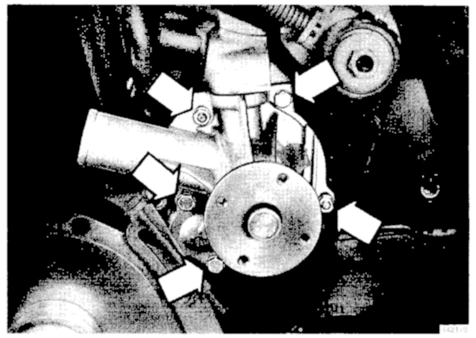 i need to replace the water pump on my 1993 volvo 940 turbo sedan i 1994 Volvo 940 Transmission graphic