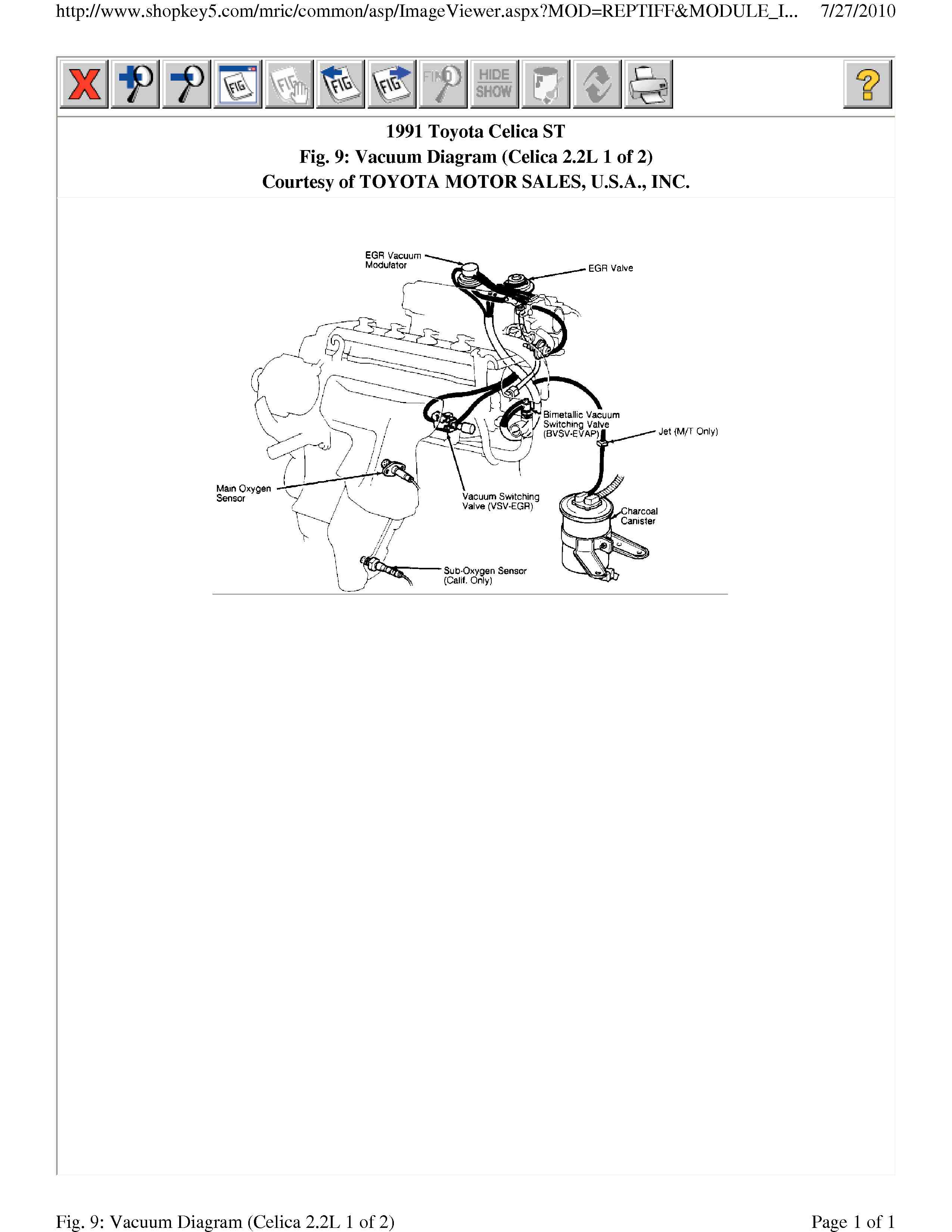 1991 Toyota Celica Vacuum Diagram Schematic Diagrams 1993 Engine 93 Data Wiring U2022 Gt Four
