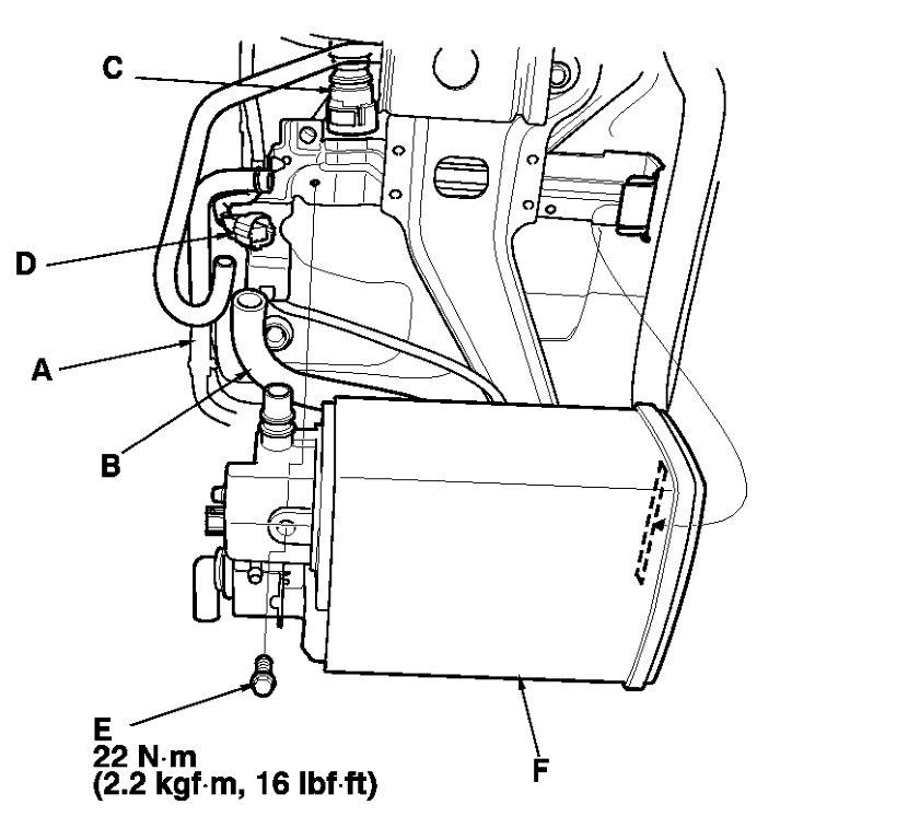 2002 honda civic evap system diagram