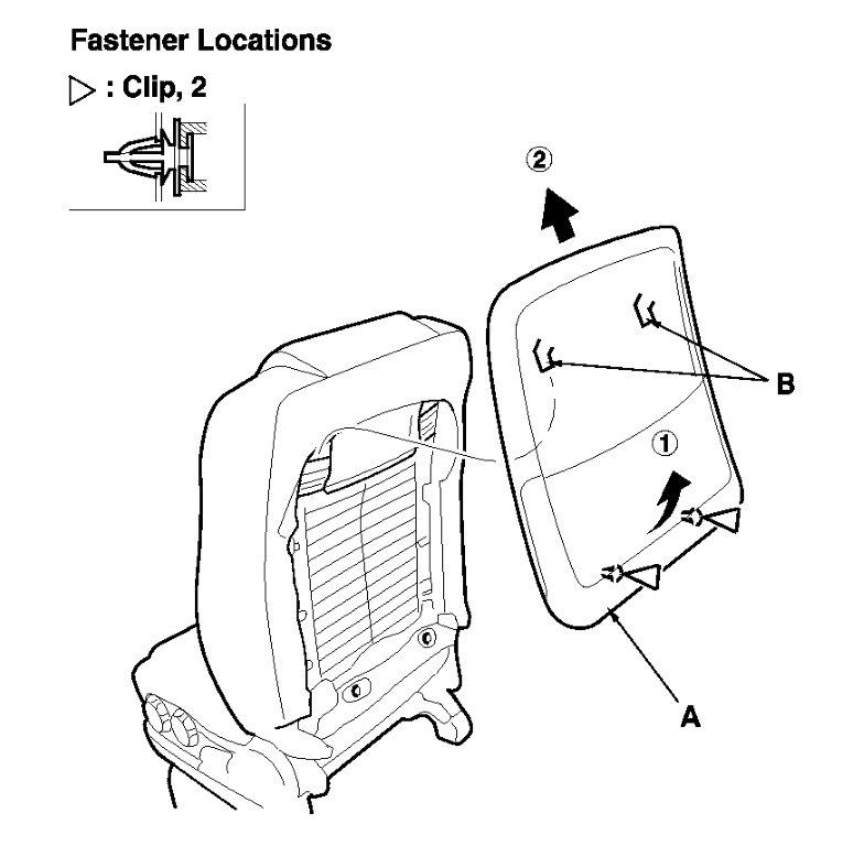 honda ridgeline rear seat diagram