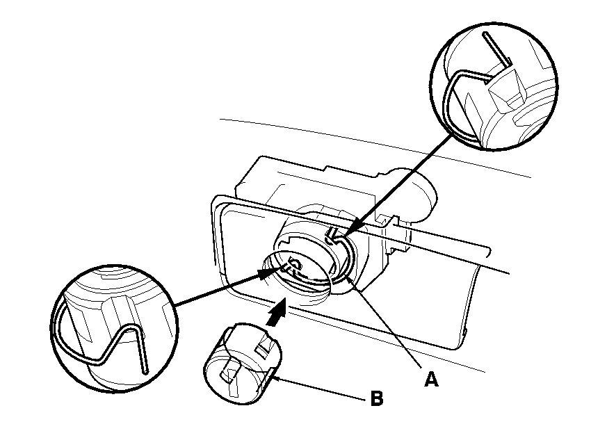 How To Open Honda Accord 2003 Glove Compartment If Lock Is Broken In