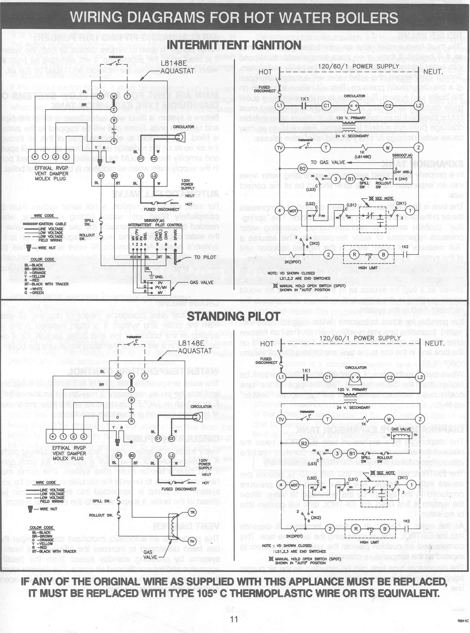 Aquastat L8124a Wiring Diagram Not Lossing For Humidistat Get Free Image About Honeywell Controller Relay