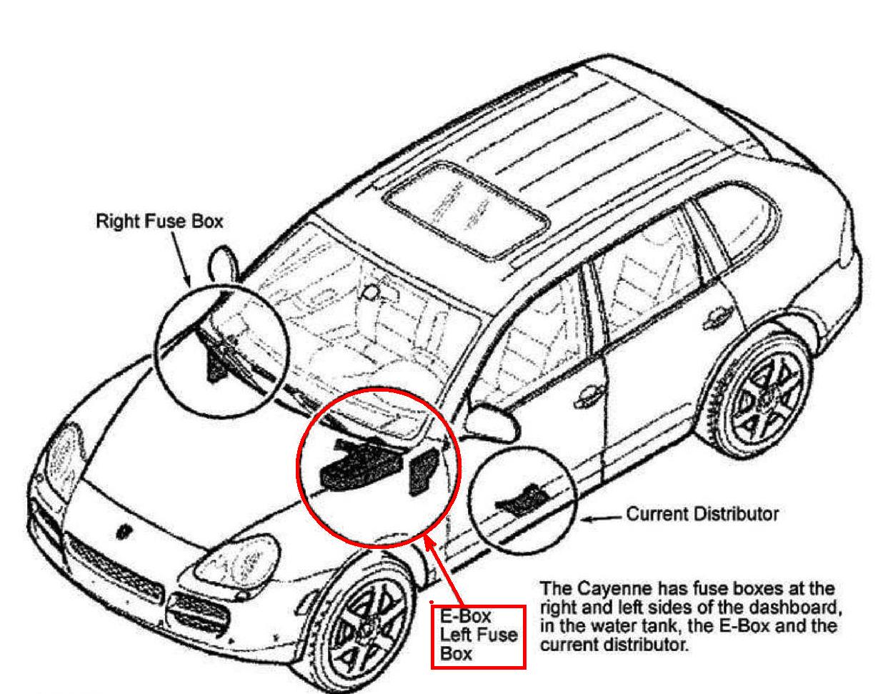 greg i bought my 04 v8 cayenne s in the summer and to date stands rh justanswer com 2012 porsche cayenne fuse box location 2004 porsche cayenne fuse box diagram