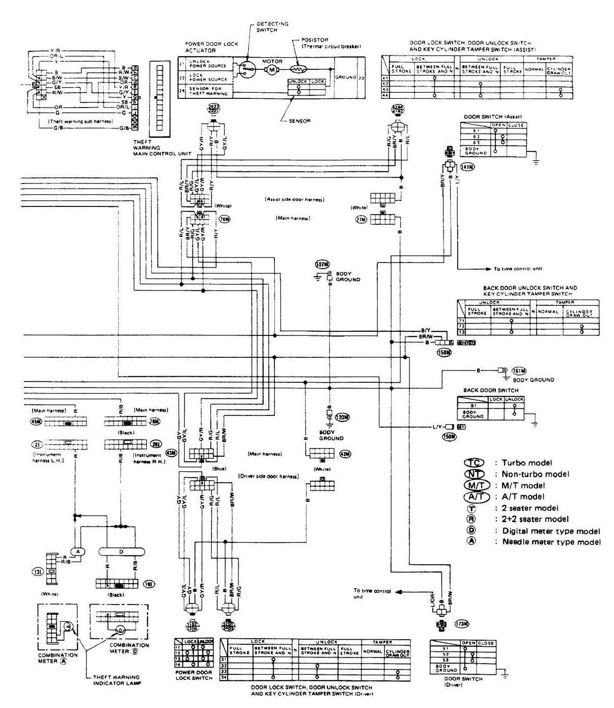 86 Nissan 300zx Wiring Diagram Diagrams Lights I Have A And The Car Wont Start 1986 Fuse Relay